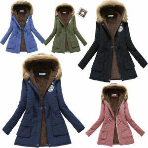 Fluffy Hooded Parka Jacket