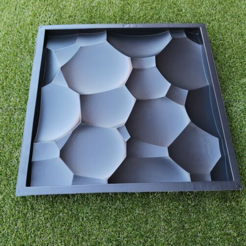 3D Wall Stone Mold Decorative Panels *ORB* Plastic Form for Plaster Gypsym
