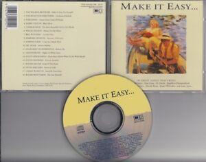 MAKE-IT-EASY-1992-CD-ENGELBERT-HUMPERDINCK-RIGHTEOUS-BROTHERS-PETER-SKELLERN