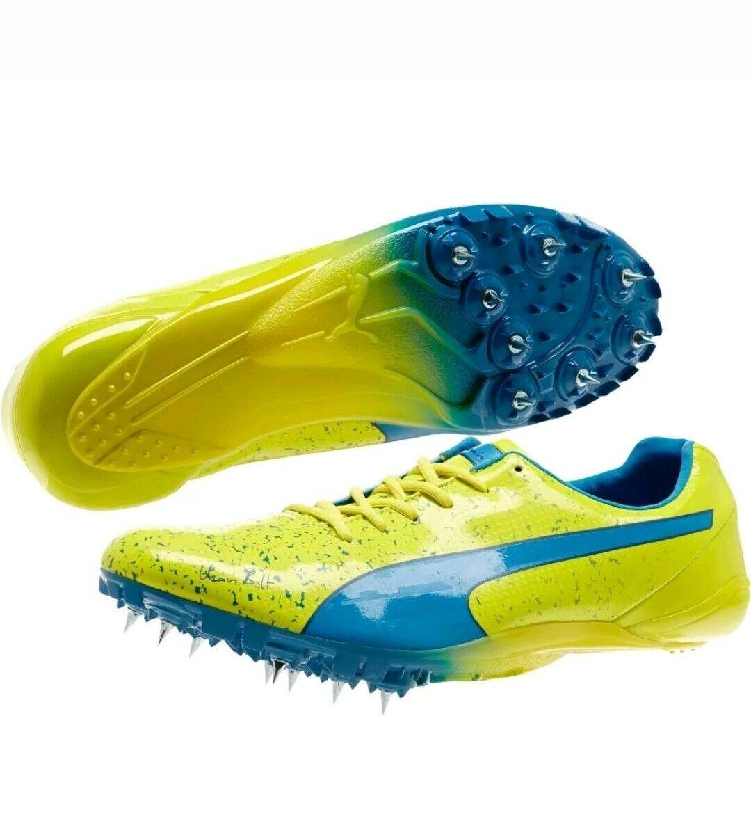 Esclusione come quello triangolo  PUMA evoSPEED Electric Spike Usain Bolt Sprint Running Track Shoes Spikes  for sale online   eBay