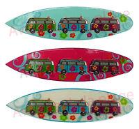 Magnet Planche De Surf Et Van De Surfeur, Aimant Pour Frigo Neuf