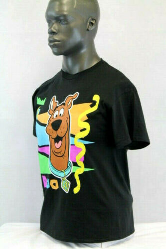 Scooby-Doo S//S COLORFULL T-SHIRT BLACK//MULTICOLOR SDSN597