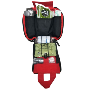 Elite First Aid Patrol Trauma Kit Level w/ CAT Tourniquet & Combat Gauze