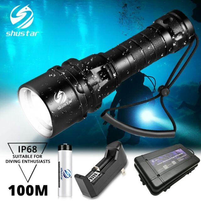 Super bright Diving Flashlight IP68 highest waterproof ...