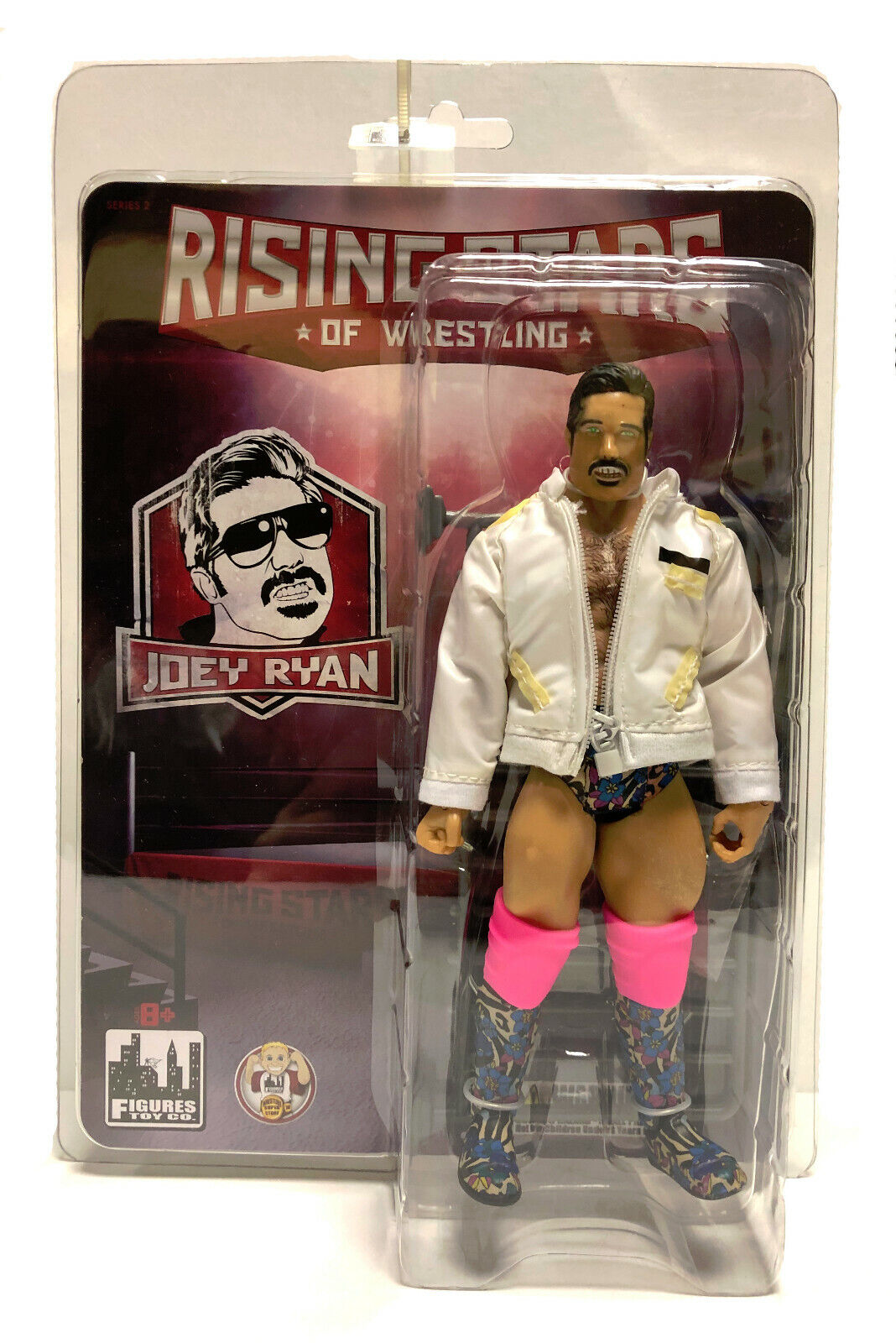 Official Rising Stars of Wrestling - Joey Ryan Action Figure