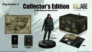 Resident Evil 8 Village Collector's Edition PlayStation 4 PS5 Sold Out ship asap