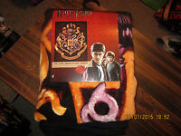 Warner Brothers Harry Potter School Crest Throw Blanket 46 X 60