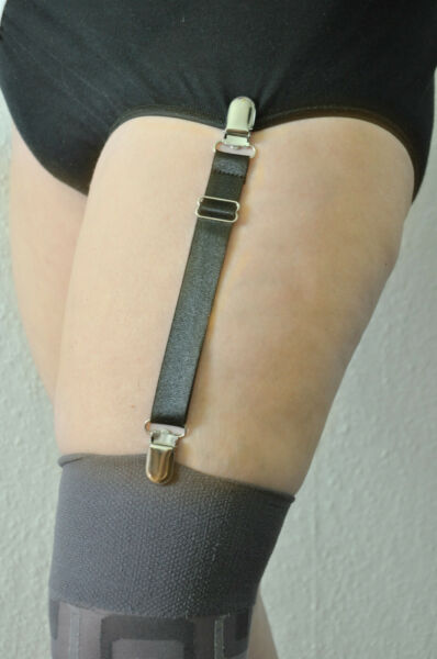 6,49 €/Stk    Ein Paar Strumpfhalter ca 15cm – 22cm x 1,5 cm Strumpfband Clip