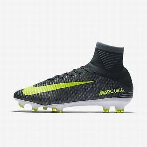 6fc1b7da012 Nike YOUTH JR Mercurial Superfly V CR7 FG RONALDO Soccer Cleats SIZE ...