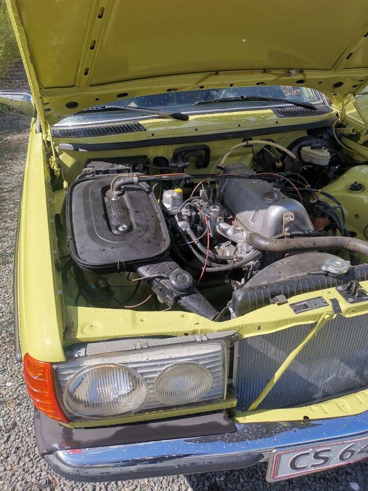 Mercedes 200, Benzin, 1980