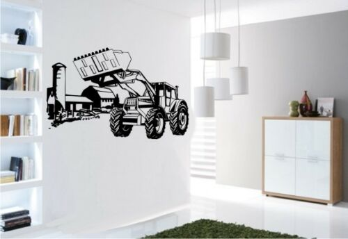 Wandtattoo Wandsticker 181 Traktor Bulldog Raupe