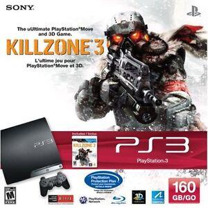 Sony-PlayStation-3-160GB-Killzone-3-Bundle-PS3-Very-Good-3Z