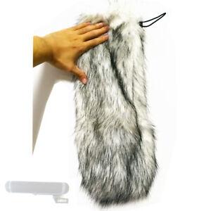 Furry Parabrisas Parabrisas Para Micrófono Sennheiser Mkh416 P48u3 Kit Dirigible Ebay