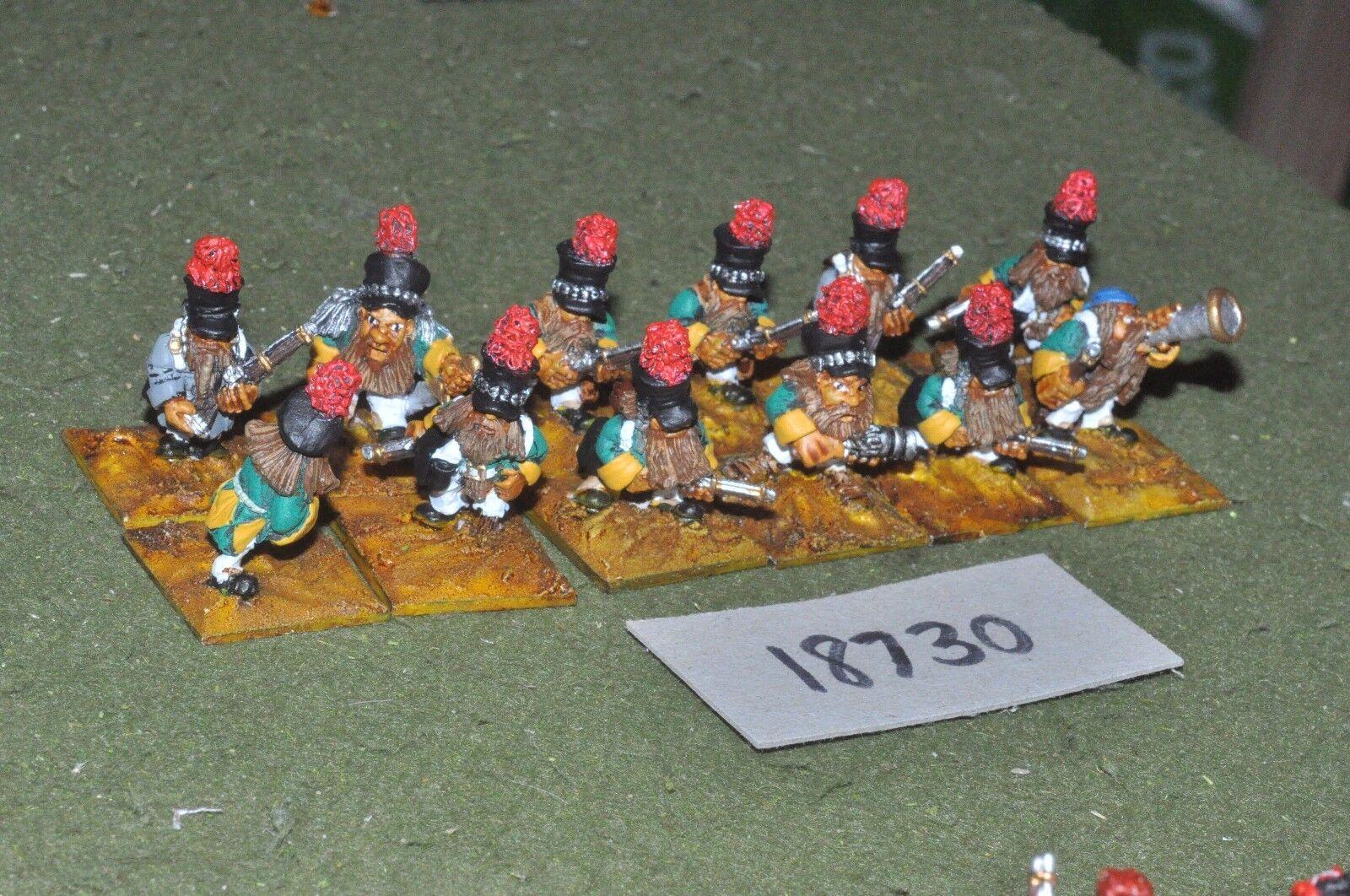 Flintloque fantasy dwarven infantry 12 figures{16} (18730)