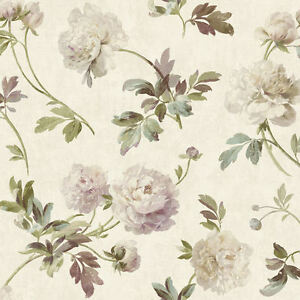 York-Whitworth-Peony-Wallpaper-in-Greens-Pinks-amp-More-GX8151-per-Double-Roll