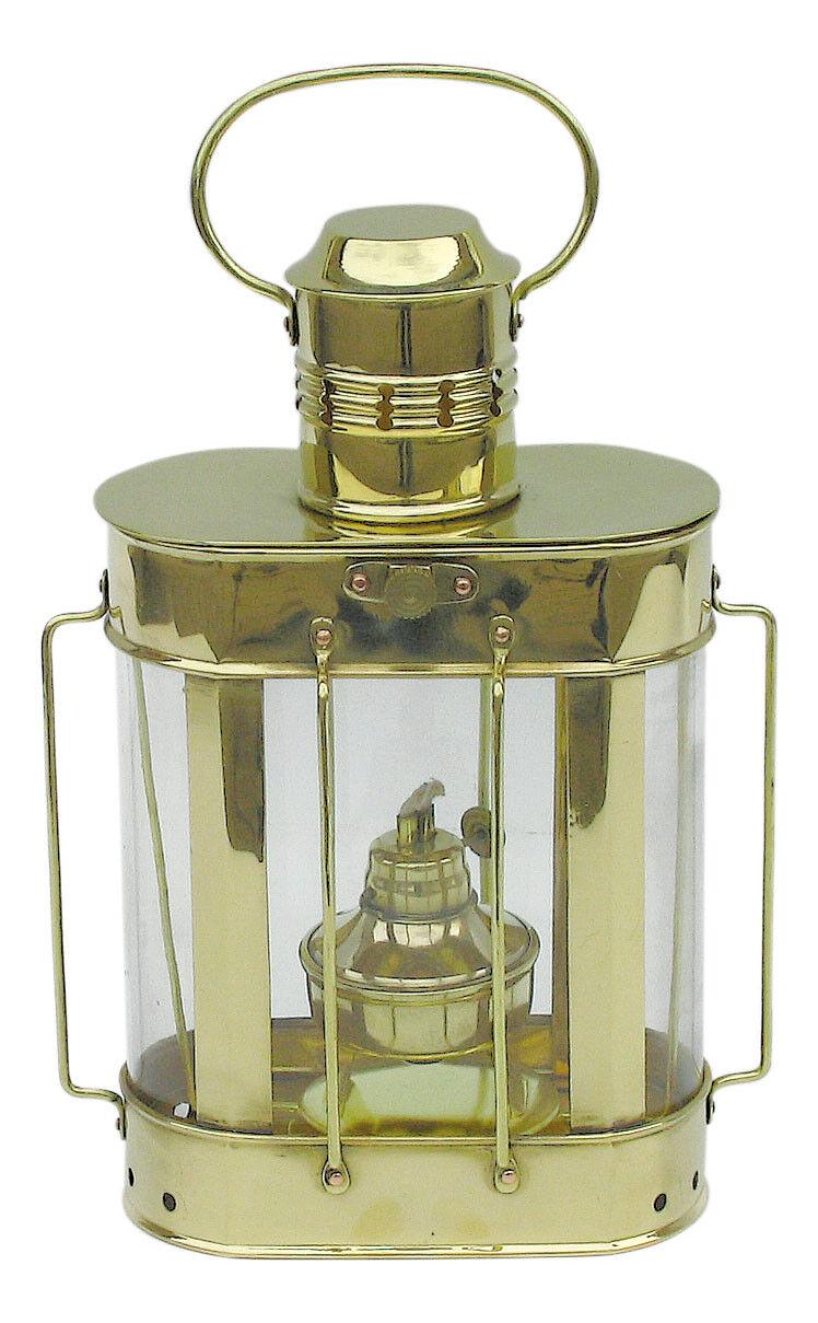 Kabelgattslampe Messing  Petroleumbrenner - perfekt für die maritime Dekoration