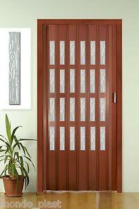 Porta a soffietto con vetrini linea pastello 9 colori a scelta prezzo finito ebay - Porta a soffietto prezzo ...