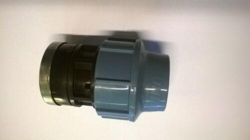 Mm MDPE compressione tubo x FEMMINA FILETTATO ADATTATORE fbsp 75mm 90mm 110mm