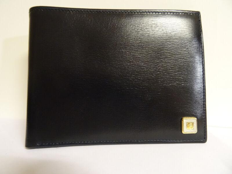 *** Comtesse Germany Leder Herren-geldbörse Portemonnaie Wallet Schwarz