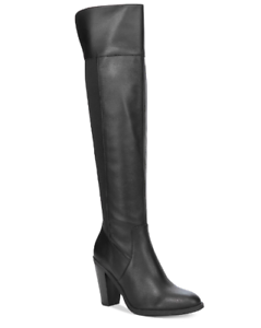 NEW KENETH COLE Reaction Women's Very Clear Dress Boots Size 6 M Black $149