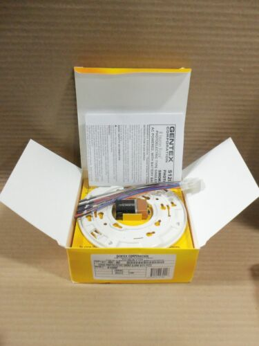 New Open Box Gentex S1209F Smoke Alarm With Piezo Fire Alarm