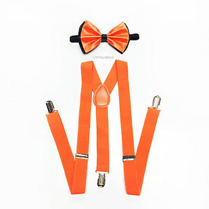 3ea6c69028ed Clothing, Shoes & Accessories Blush Light Pink SUSPENDERS And BOW TIE  Matching Set Tuxedo Wedding Prom Men's Accessories