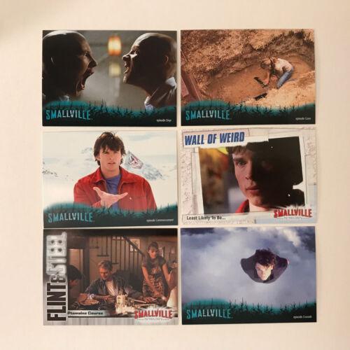 SMALLVILLE SEASON 4 Complete Card Set w// FOIL SWITCHCRAFT /& LOIS CLARK Chase Set