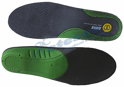 Sidas 3D Comfort Shoe Insole Orthotic Walking Arch Support SIZE 2-3 Small