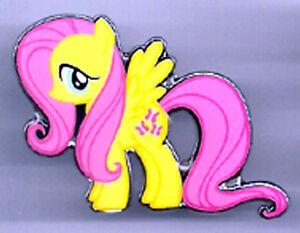 flutter sky my little pony enamel metal pin 2 tall free s h