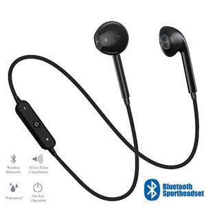 Bluetooth Auriculares Dual Estéreo Cuello Deporte Gimnasio