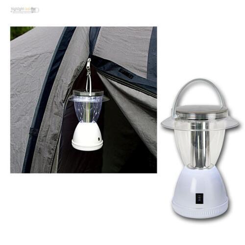 LED solar-camping lámpara 12 LED 2 funciones 15//50lm farol lámpara camping