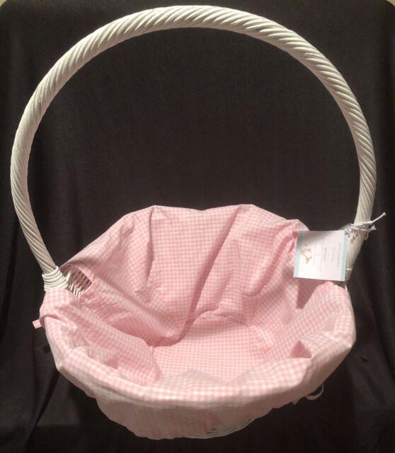 New Pottery Barn Kids Sabrina Easter Basket Large White