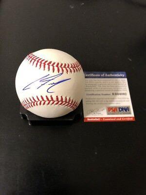 Trend Mark Clint Frazier Autographed Romlb Ss Rookie Ball W/coa New York Yankees Autographs-original