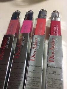 Details About Dior Addict Lip Tattoo New Bnib 881 451761 351 Choose 1 Colored Tint