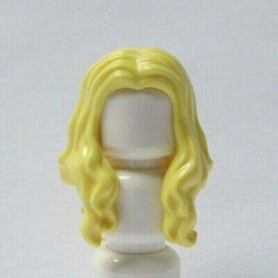 Lego 3 Hair Wig For  Minifigure Figure Brown Bobbly Curly Diva