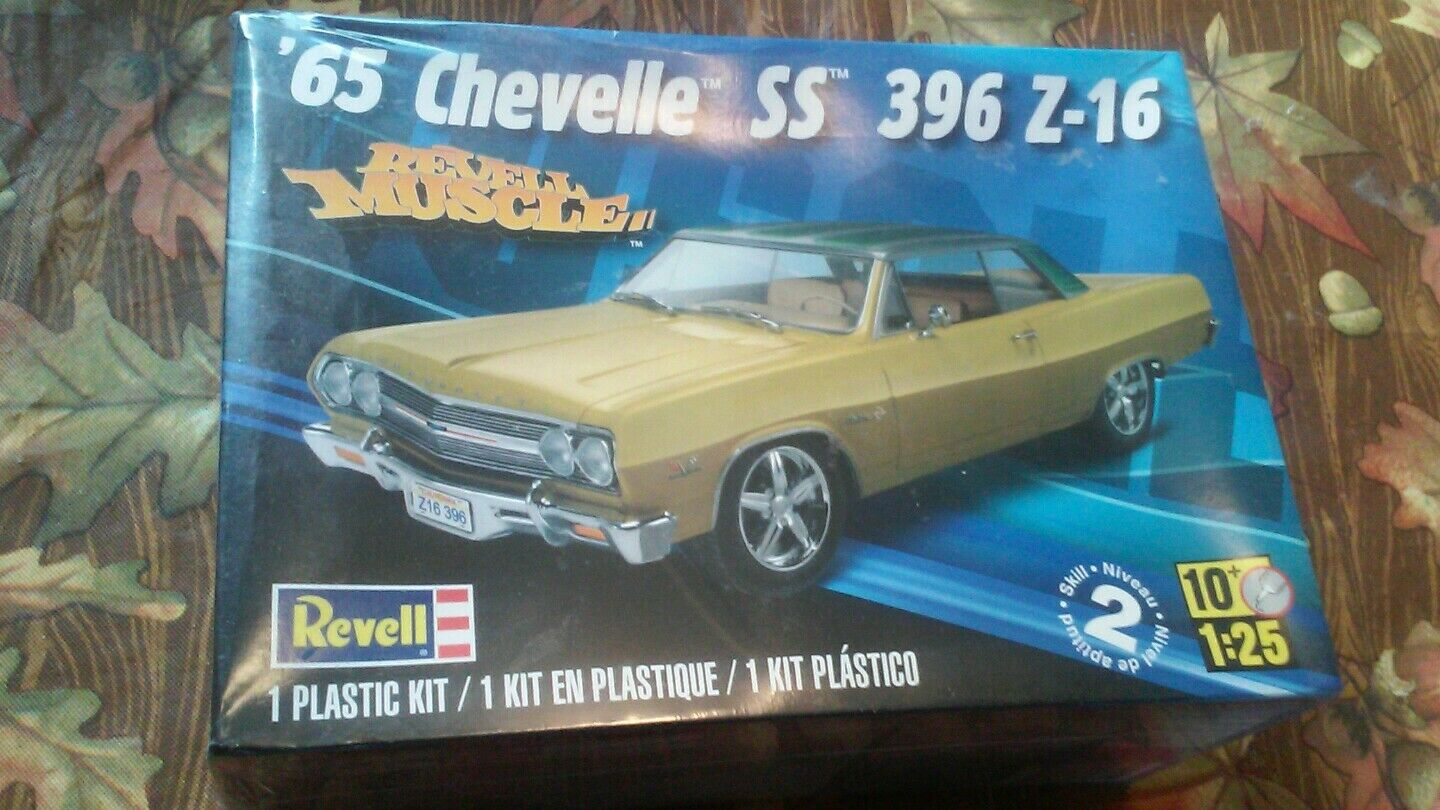 REVELL 65 CHEVELLE SS 396 Z-16 (BRAND NEW IN FACTORY WRAP)