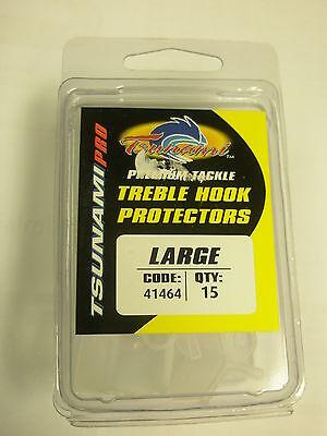 Tsunami 15pk Treble hook covers protectors LRG Fishing