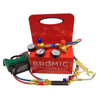 Bromic Oxy Set Mobile Brazing /& Welding System,Oxygen,Mapp Pro Trade Quality 1