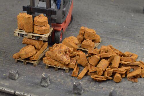 Ladegut Metallschrott rostig Spur 1  M 1:35//32 Art.Nr.23336