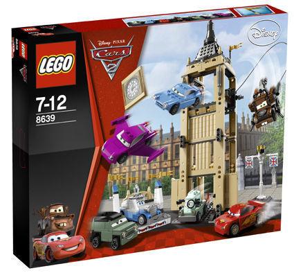 LEGO 8639 CARS Big Bentley CUCINA