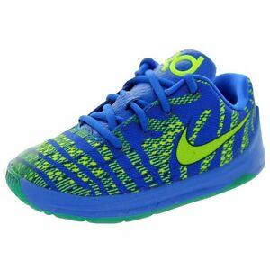 988bf02b63bb Nike KD Kevin Durant 8 (TD) Infant Hyper Cobalt Volt Deep Royal Blue ...