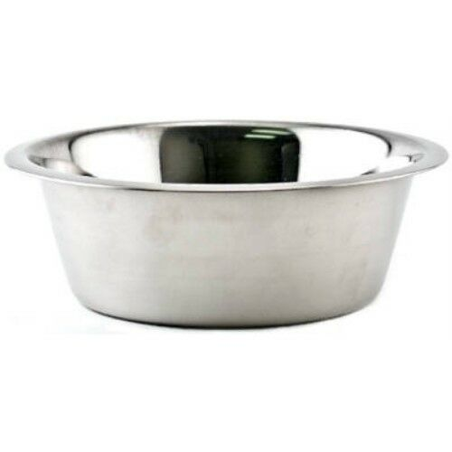 Westminster Pet Products 15096 Pet Dish, Stainless Steel, 3-Qt.