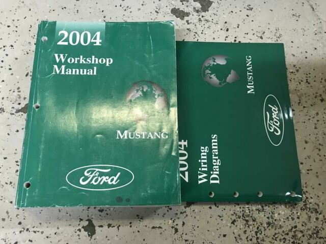 2004 Ford Mustang Gt Cobra Mach Service Shop Repair Manual