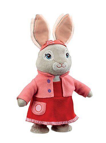 Peter Rabbit PO1450 CBeebies hablando y salto Lily Bobtail de Peluche de Juguete