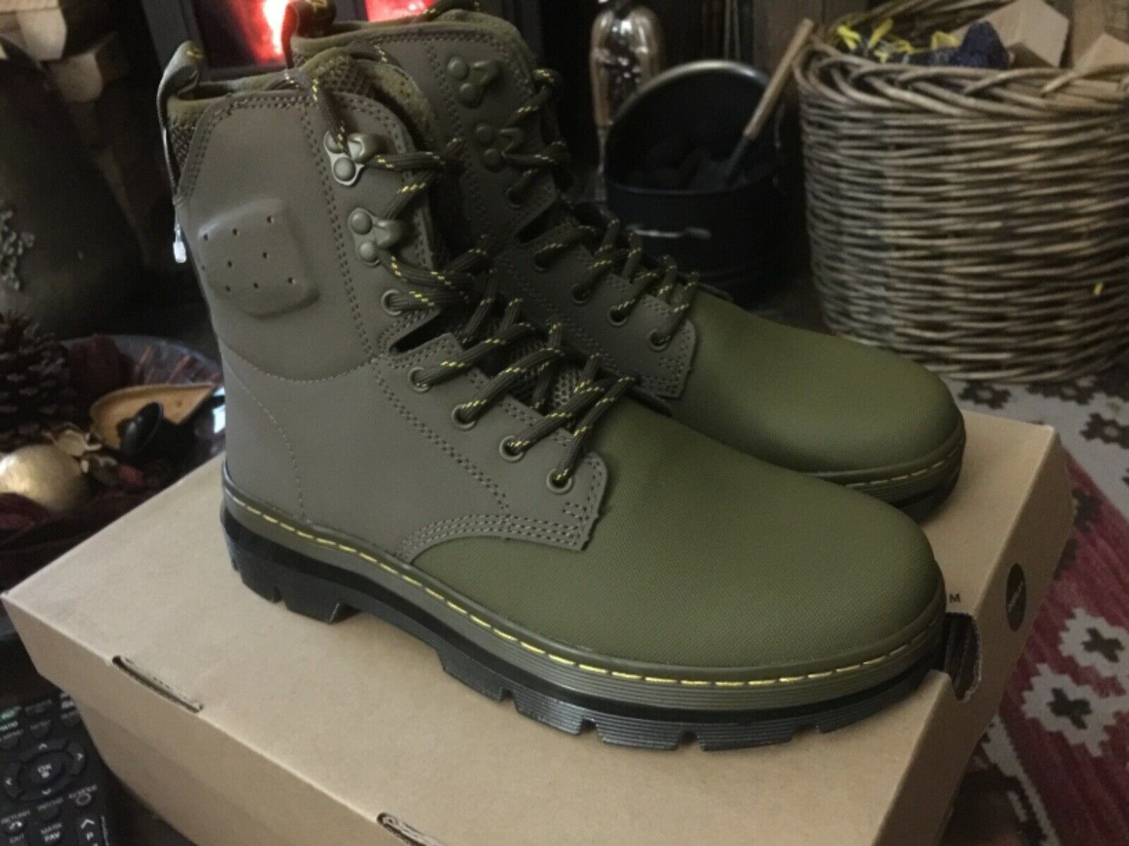 finest selection cf169 f8e68 DR MARTENS CANVAS Stiefel UK 6 3b6f4czfl24174-Stiefel ...