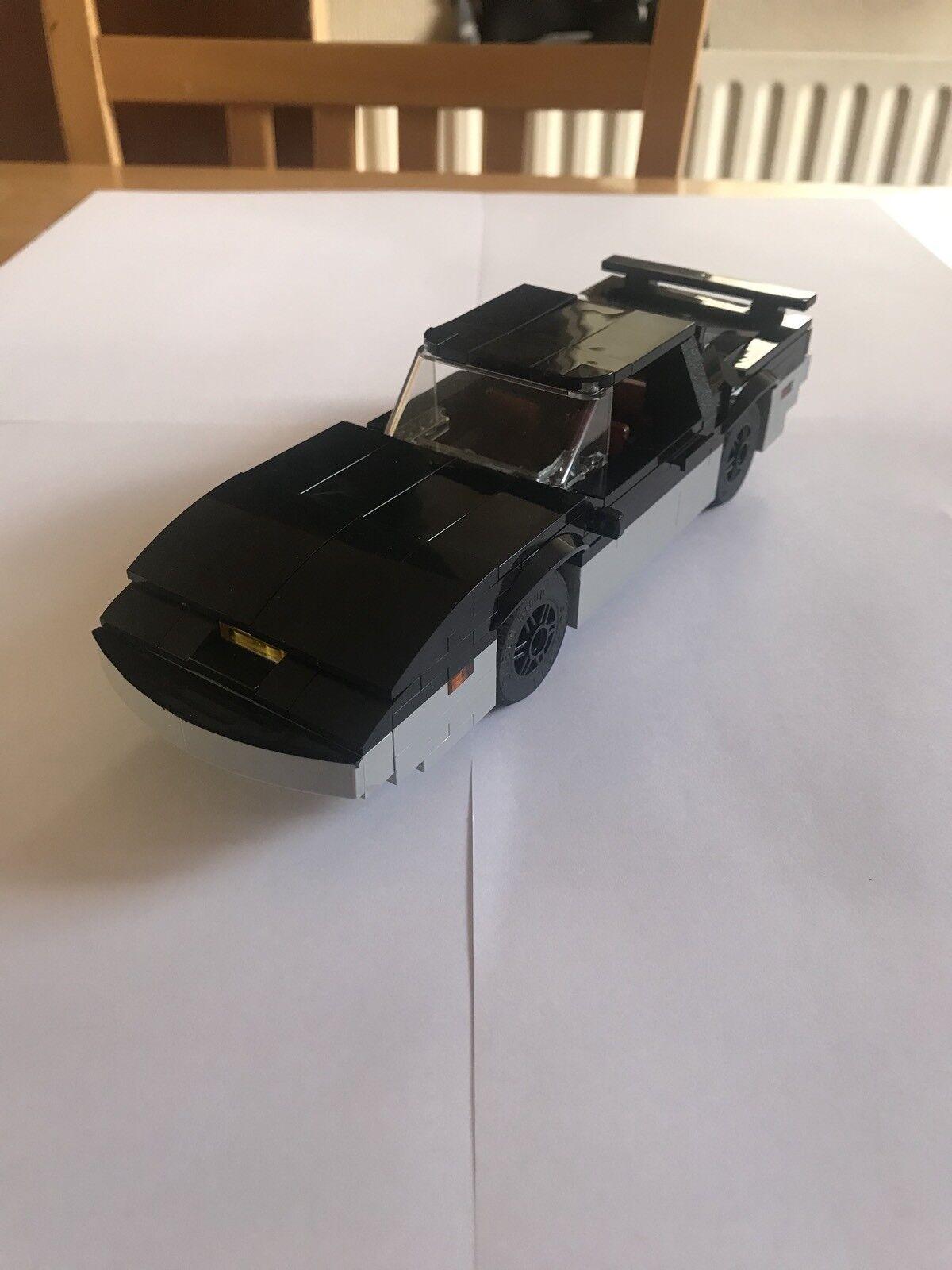 Dans l'attente l'attente l'attente de la ville, retenant votre souffle Knightrider Custom Built LEGO 1982 KARR badb5c