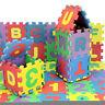 36PCS/Set Alphabet & Numerals Baby Kids Play Mat Educational Toy Soft Foam Mats