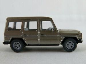 Wiking-266-7-Mercedes-Benz-230-GE-1990-in-olivgraumetallic-1-87-H0-NEU-unbesp