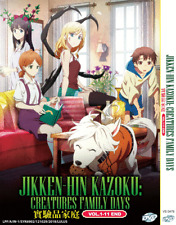 Anime DVD Jikken-hin Kazoku Creatures Family Days Vol 1-11 End