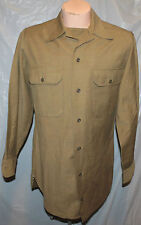 WWII US ARMY ENLISTED WOOL KHAKI SHIRT REPO
